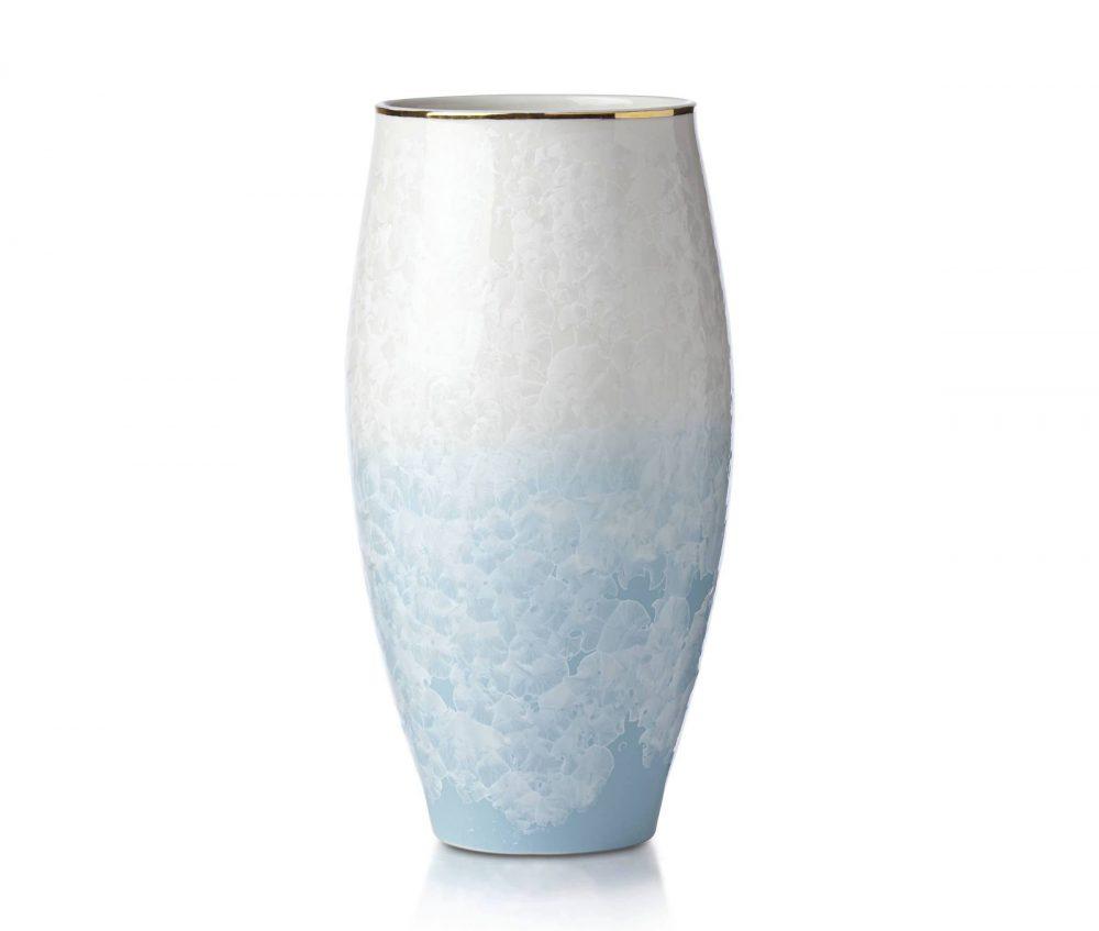 Lenox Glacia Large Porcelain Vase 11 5 Inches Plum