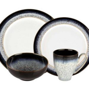 Denby Halo 4-Piece Place Setting  sc 1 st  Plum Street Pottery & Dinnerware Materials | Plum Street Pottery