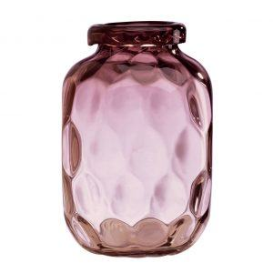 Lenox Hive Plum Crystal Bottle Vase