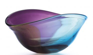 Lenox Nightfall Oval Crystal Bowl