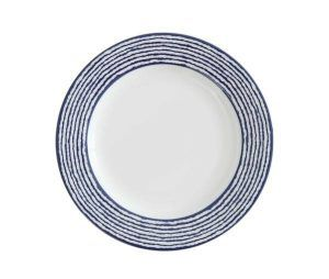 Fortessa Nantucket Stripe Salad Plate