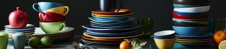 Colorwave Blue Square Dinnerware by Noritake®  sc 1 st  Plum Street Pottery : noritake colorwave dinnerware - pezcame.com