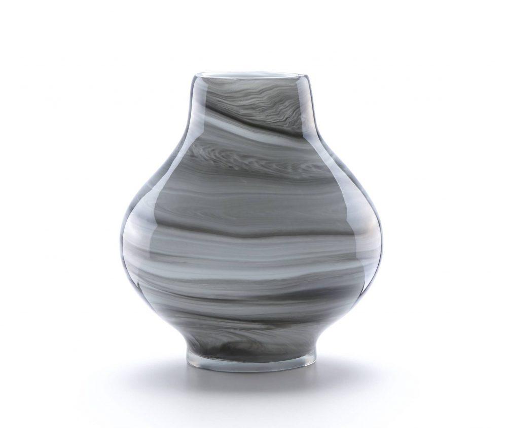 Lenox Novia Swirl Crystal Vase Plum Street Pottery