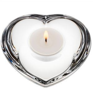Orrefors Amour Crystal Votive