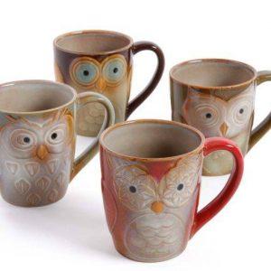 Gibson Owl Coffee Mugs