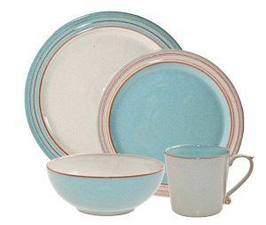 Denby Heritage Pavilion 16-Piece Dinnerware Set