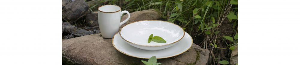 D&V Fortessa Spice Salt Dinnerware