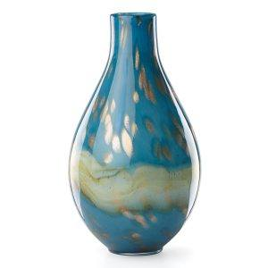 Lenox Seaview Horizon Bottle Vase