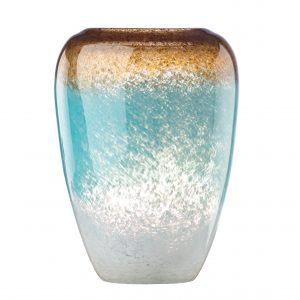 Lenox Seaview Ombre Crystal Urn Vase