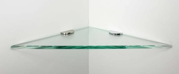 Clear Glass Shower Shelf