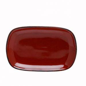 D&V Fortessa Spice Cayenne Rectangular Coupe Platter