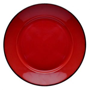 D&V Fortessa Red Coupe Bowl