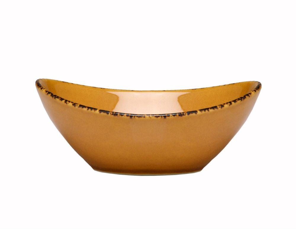 D Amp V Fortessa Spice Saffron Oval Bowl Plum Street Pottery