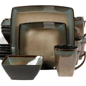 Gibson Tequesta Taupe Dinnerware Set