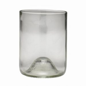 D&V Glass Vintage Clear Short Beverage Glass