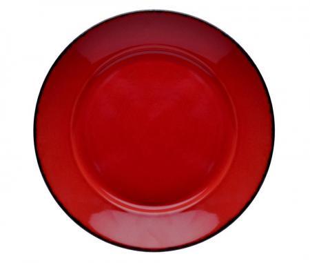 D&V Fortessa Red Coupe Bowl