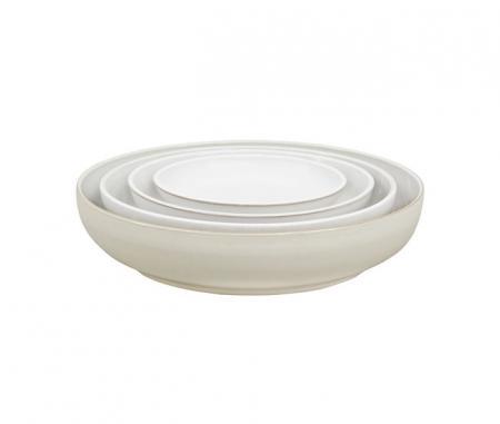 Denby Natural Canvas Nesting Bowls Set Of Four Plum