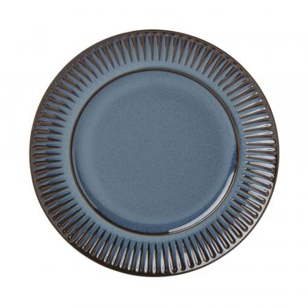 Dansk Flamestone Denim Salad Plate