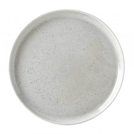 Dansk Raina Porcelain Grey Dinner Plate