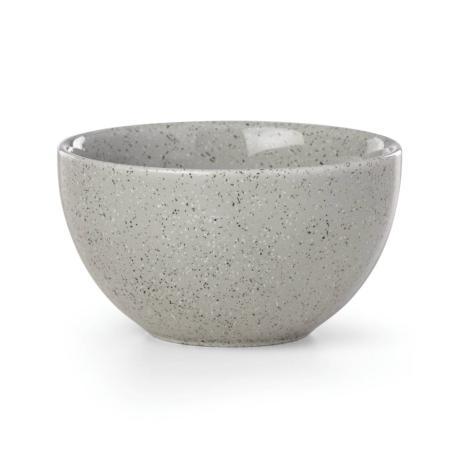 Dansk Raina Light Grey Porcelain Fruit Bowl