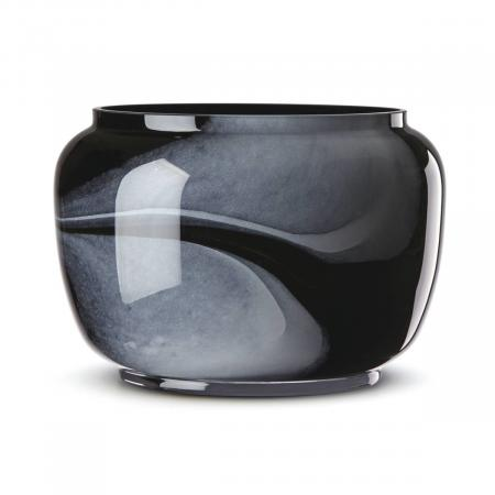 Lenox Brinton Black Glass Bowl