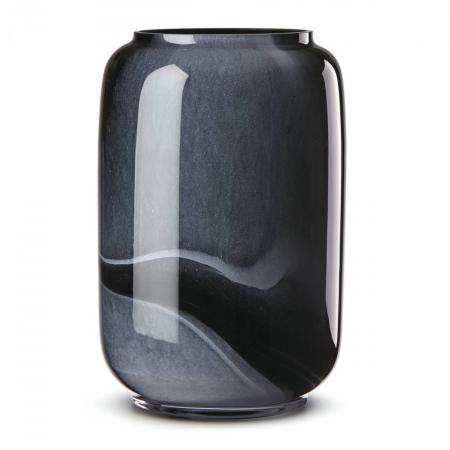 Lenox Brinton Black Glass Vase