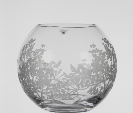 Orrefors Organic Small Round Vase