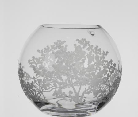 Orrefors Organic Small Vase Plum Street Pottery