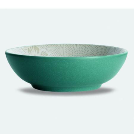 Noritake Colorwave Bloom Turquoise Vegetable Bowl