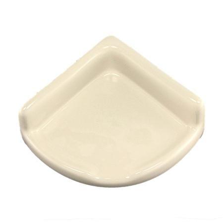 Lenape ProSeries Small Bone Ceramic Shower Shelf