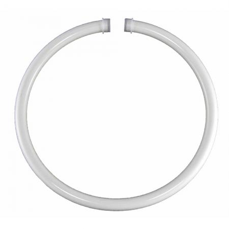White Metal Towel Ring 6 inches
