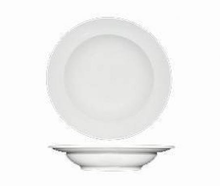 Fortessa White Rim Soup Bowl