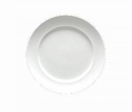Cassia White Porcelain Salad Plate