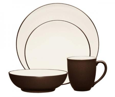 Noritake-Colorwave-Chocolate-Dinnerware-Collection