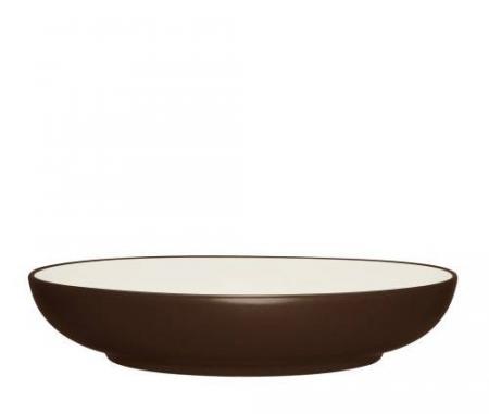 Noritake-Colorwave-Chocolate-pasta-serving-bowl