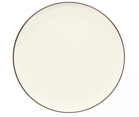 Noritake-Colorwave-Chocolate-Coupe-Round-Platter