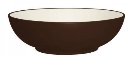 Noritake-Colorwave-Chocolate-Round-Vegetable-Bowl