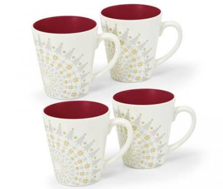 Noritake-Colorwave-Raspberry-Holiday-Accent-Mugs