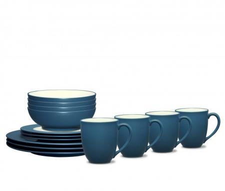 Noritake Colorwave Blue Rim Dinnerware Set