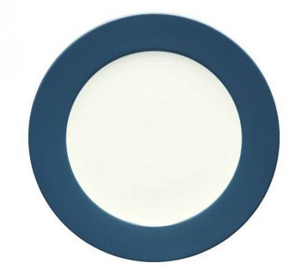 Noritake-Colorwave-Blue-Rim-Round-Platter