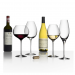 Orrefors Crystal Difference Wine Glasses