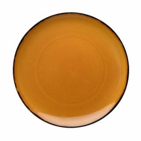 D&V Fortessa Spice Saffron Coupe Dinner Plate