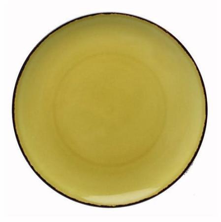 Fortessa Spice Cilantro Serena Coupe Salad Plate 8.25 Inches