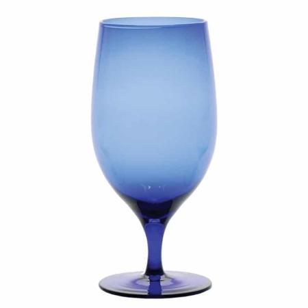 D&V Gala Cobalt Goblet/Beverage Glass