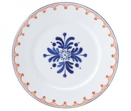 Dansk Northern Indigo Accent Plate Plum Street Pottery