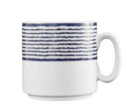 DV Fortessa Nantucket Stripes Mug