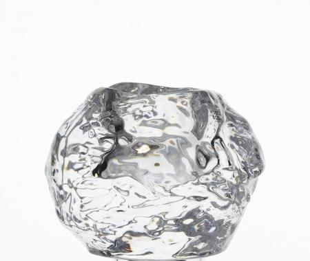 Kosta Boda Crystal Snowball Votive