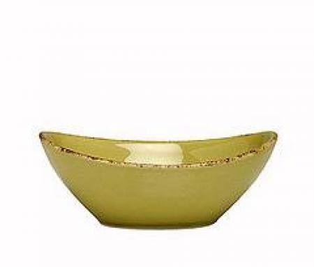 D&V Fortessa Spice Cilantro Oval Serving Bowl