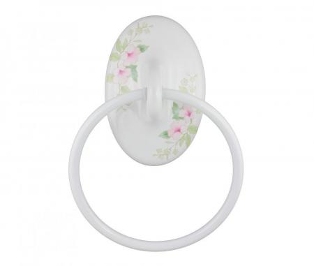 Towel Ring Classic Blossoms Plum Street Pottery