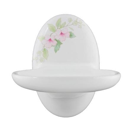 Lenape Classic Blossoms Soap Dish